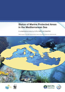 Status of marine protected areas in the Mediterranean sea