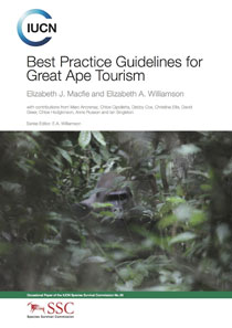 Best practice guidelines for great ape tourism
