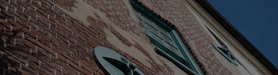 Photo of brick building