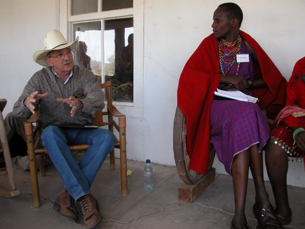 The bringing together of diverse groups such as Maasai from Kenya and ranchers from the southwestern US provides opportunities for peer-to-peer exchange and new ideas and innovations.