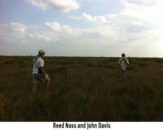 Reed Noss and John Davis TrekEast