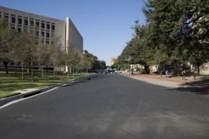 UT campus before