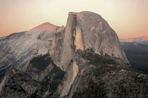 Yosemite Half-Dome at Sunset by Flickr user longdiver