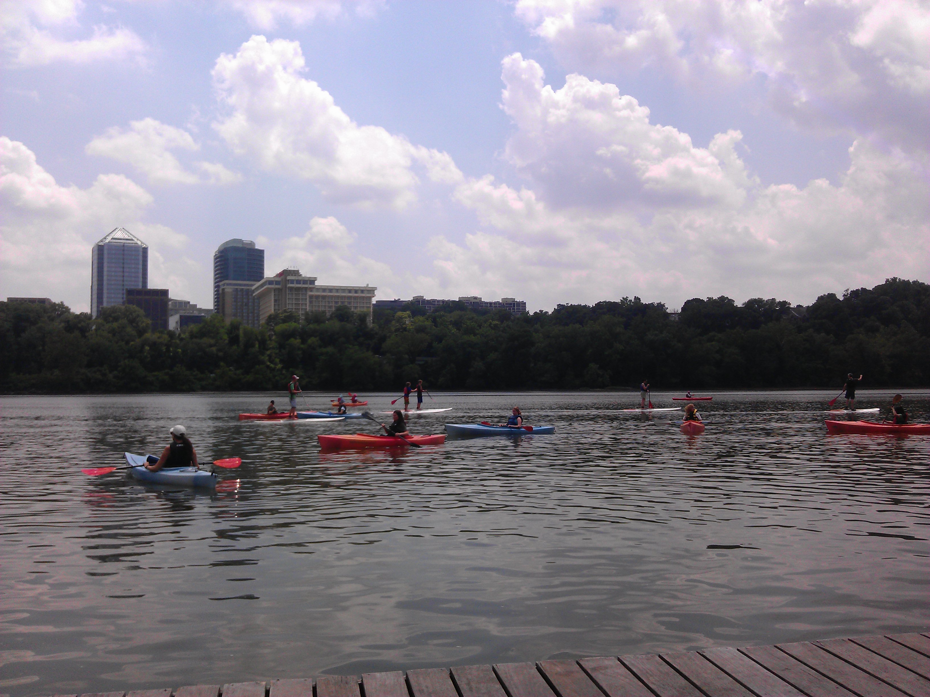 Islanders hit the Potomac for Fun Day 2014 (we