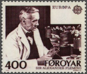 Alexander Fleming warned that pathogens would resist penicillin, during his Nobel speech (1945). Photo via Wikimedia Commons