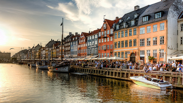 Copenhagen, a city of networks. Photo by Andrea Minoia, used under Creative Commons licensing.