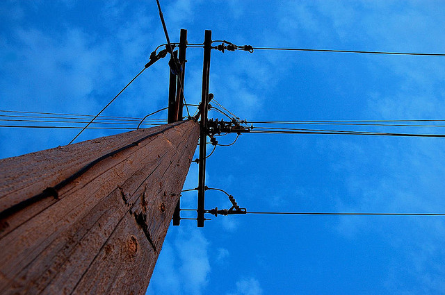 How can the electrical grid become smarter? Photo by Teo, used under Creative Commons licensing.