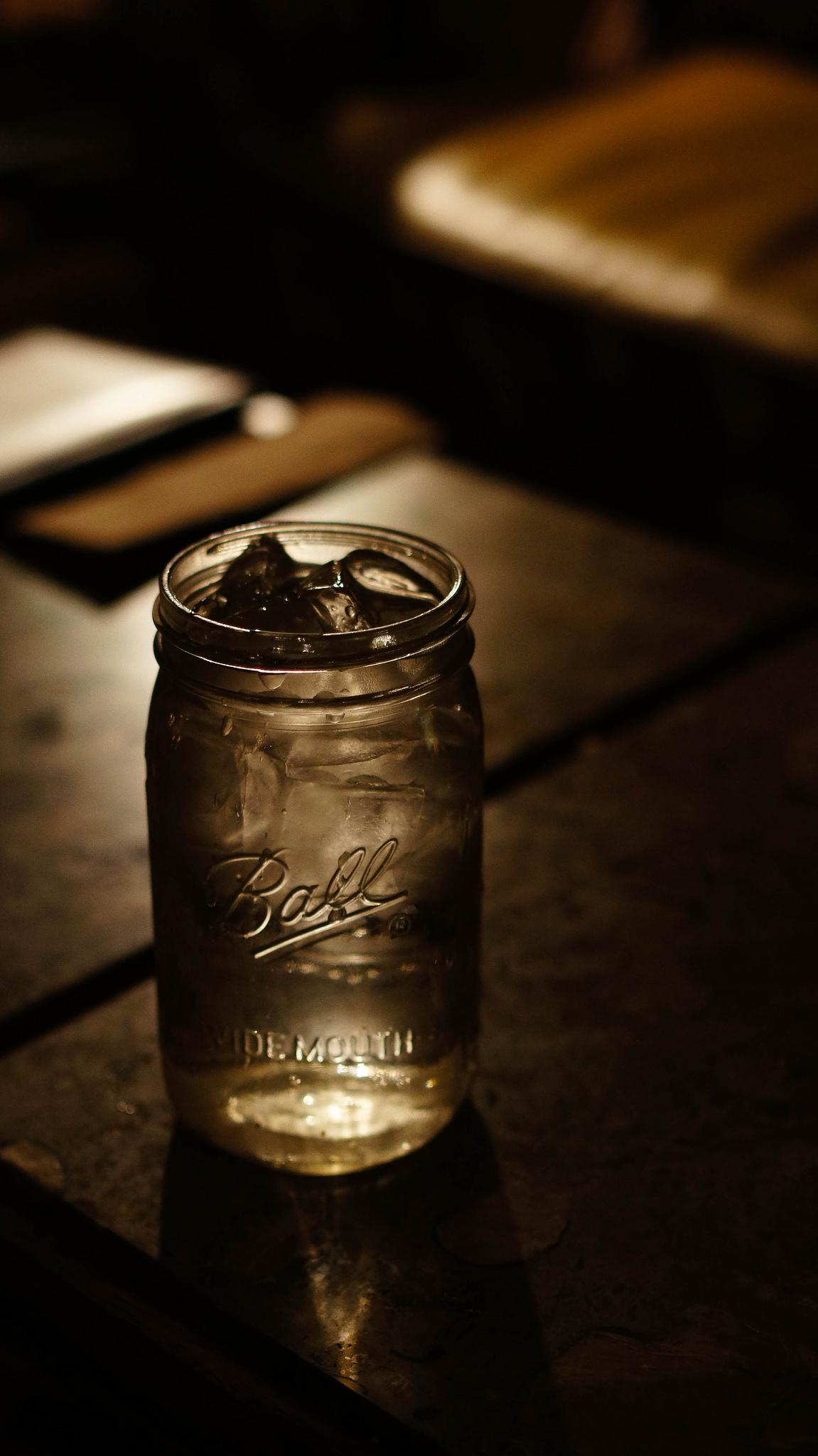 Drinking from a mason jar: hipster nonsense or a smart safety tip? Photo by João André O. Dias, used under Creative Commons licensing.
