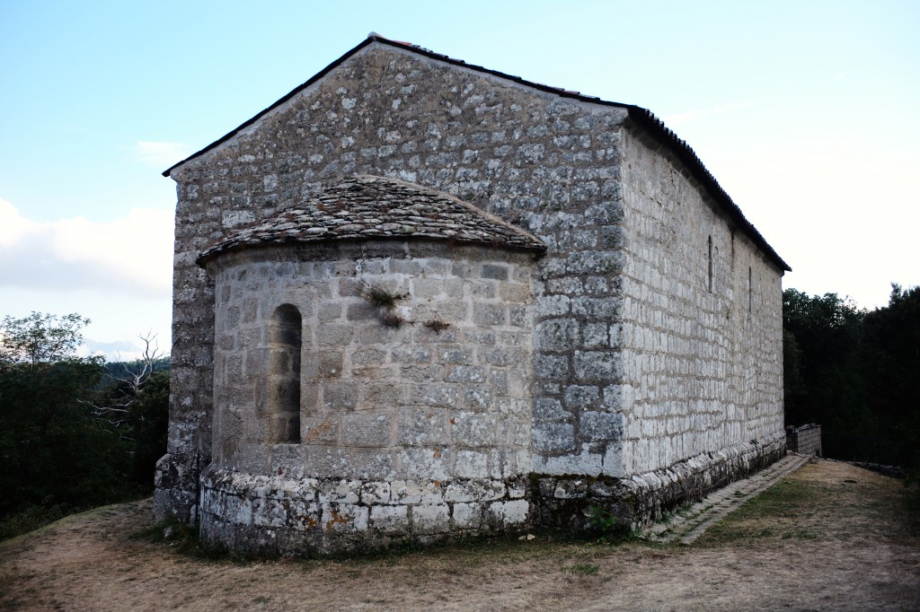 Religious structures are definitional in Quenza, this one for 1000 years