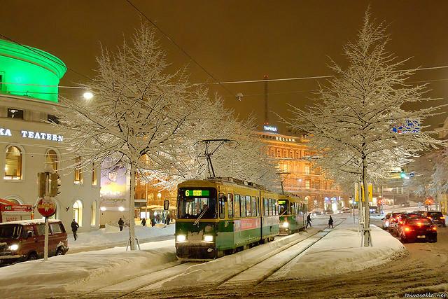 Helsinki. Photo by Niklas Sjöblom, used under Creative Commons licensing.