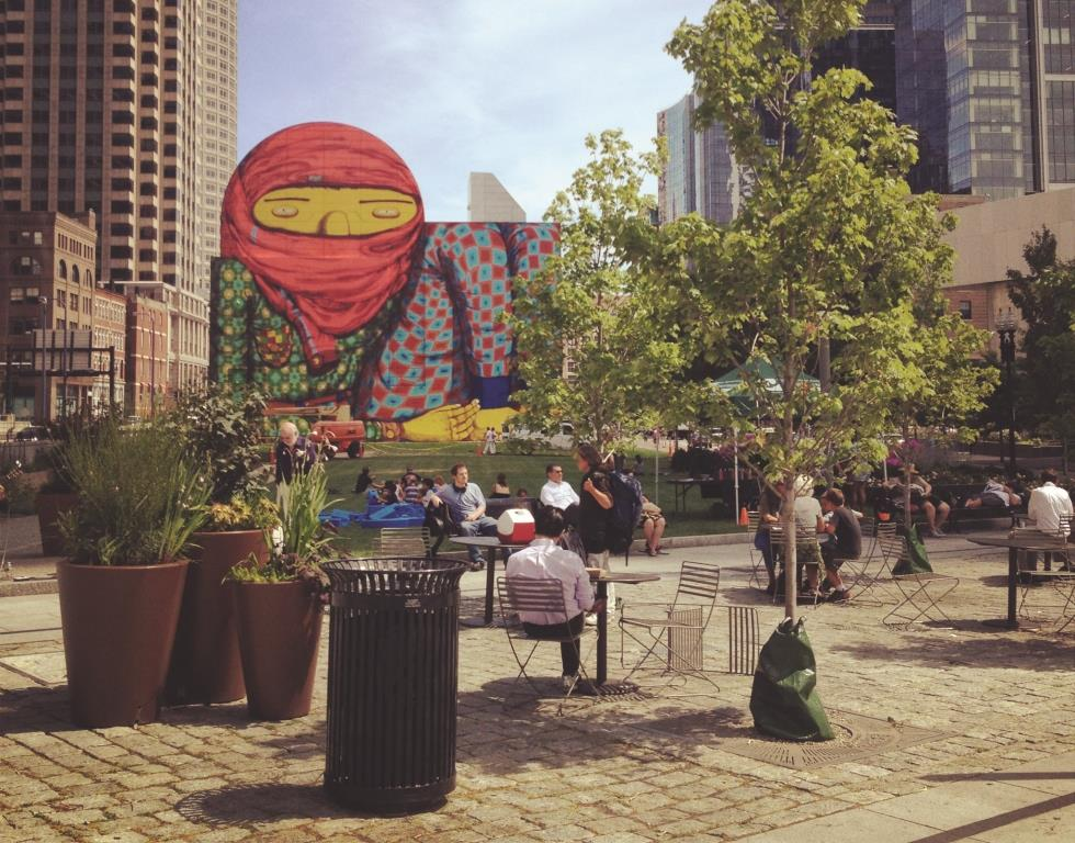 Lightweight interventions and bold public art brought new life and attention to Boston
