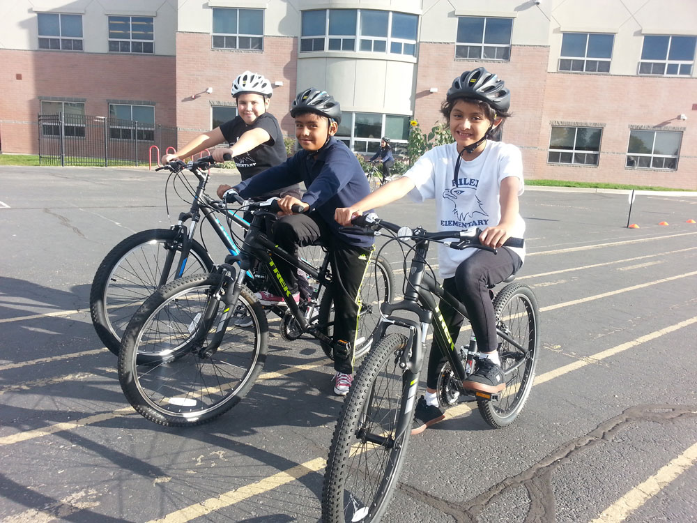 Riley Elementary, Salt Lake City | Bike Utah