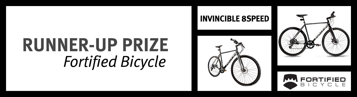 Enter the island Press Bike Month Sweepstakes | Runner-up prize: A Fortified Bicycle Invincible 8Speed