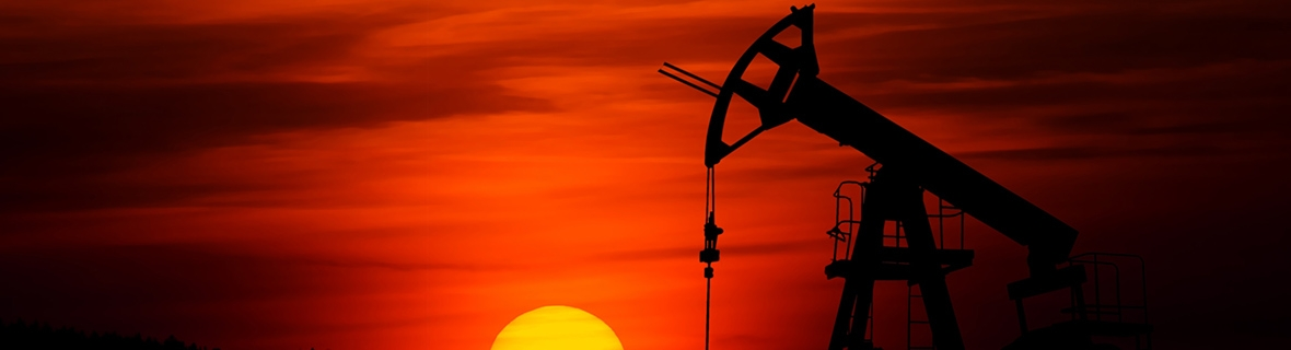 Oil rig. Photo by Zbynek Burival/Unsplash.
