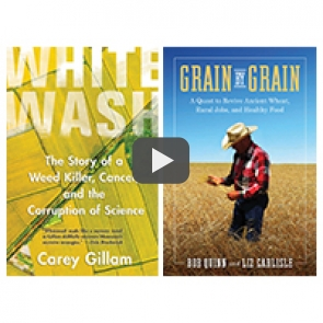 Whitewash and Grain by Grain covers
