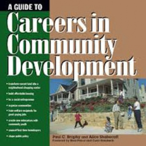 A Guide to Careers in Community Development