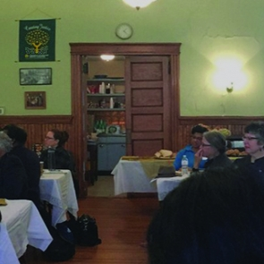 Luncheon event at First UU Church of Essex County
