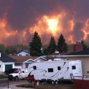 Fort McMurray Fire | Courtesy of RCMP Fort McMurray