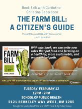 farm bill book talk