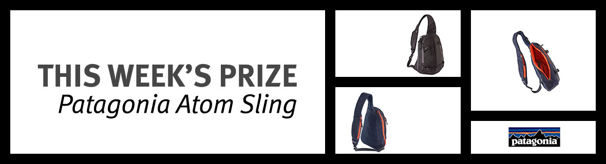 Enter the island Press Bike Month Sweepstakes | Week 1 prize: A Patagonia Backpack