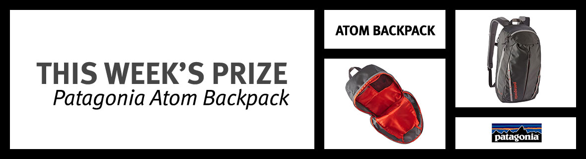 Patagonia Atom Backpack | Enter our Bike Month sweepstakes